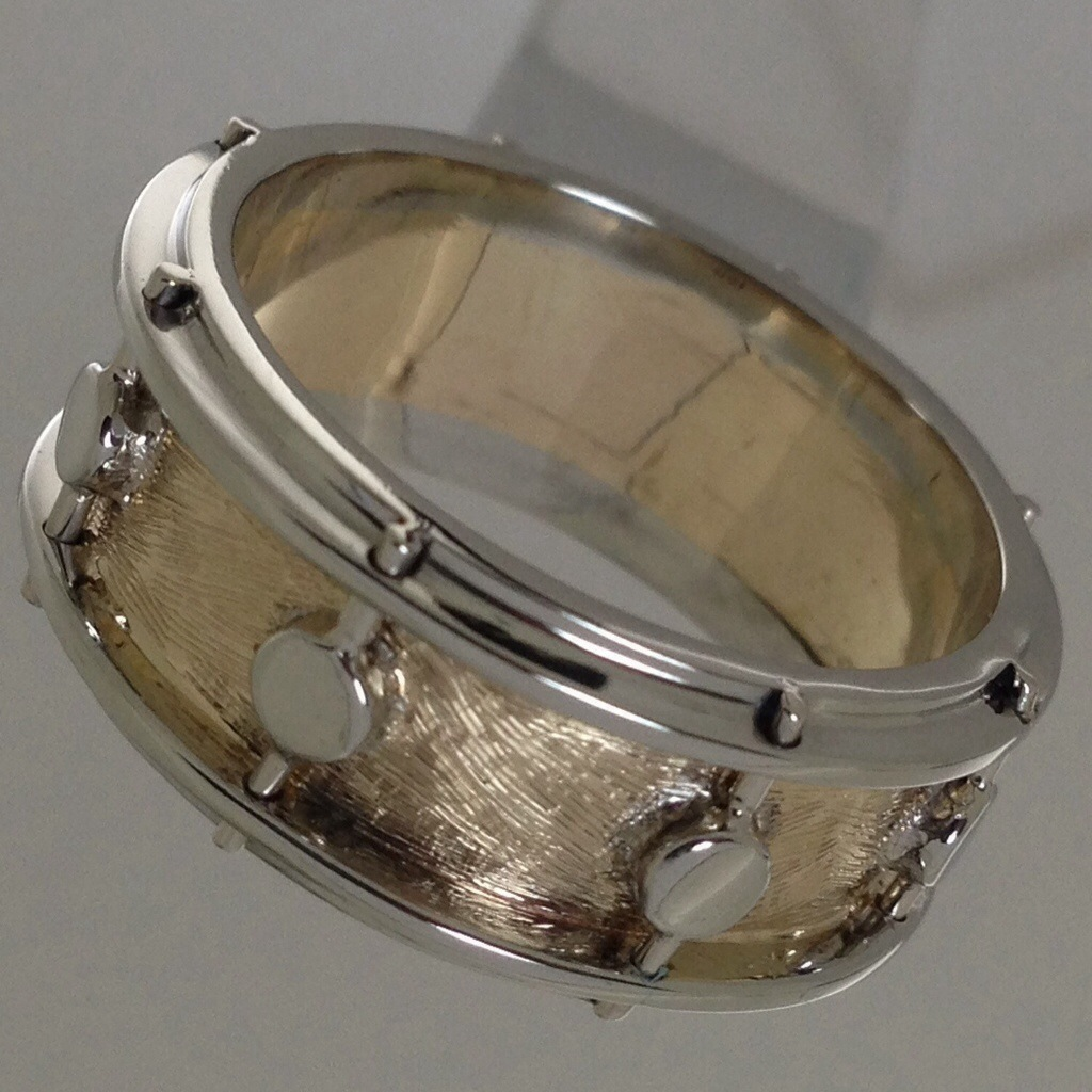 a wedding band for a drummer of a wedding band atlas jewelers bench talk. Black Bedroom Furniture Sets. Home Design Ideas